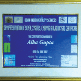 alka gupta awards