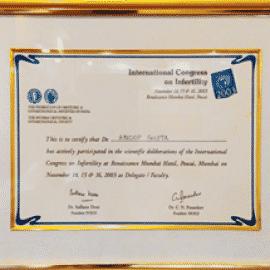 international congress on infertility