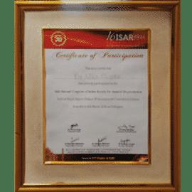 isar certificate