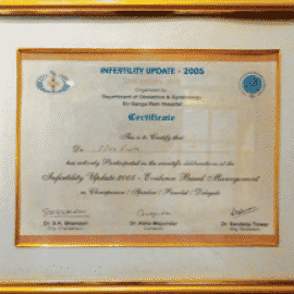 infertility update-2005 awards