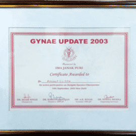 Gynae update awards